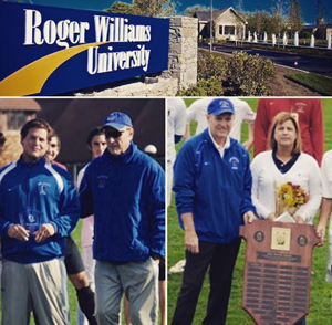 Plaque Donated to Roger Williams University